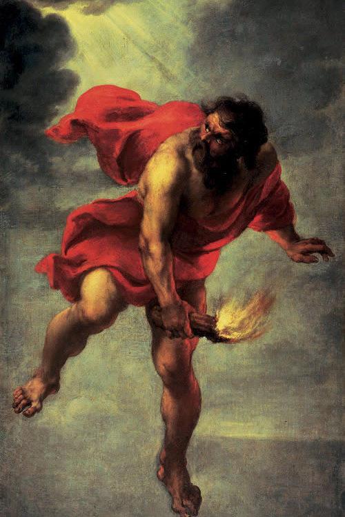 Mito di Prometeo, di Jan Cossiers