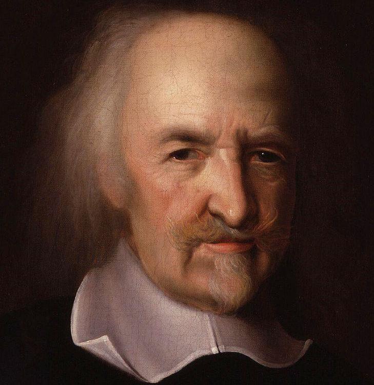 Ritratto del filosofo Thomas Hobbes